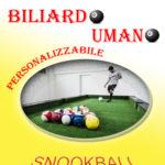 SNOOKBALL PER TUTTI: IL BILIARDO CON I PIEDI!