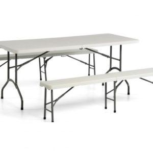 Tavoli e panche m m service - Tavoli da birreria 220x80 ...