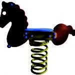 Gioco a molla pony 610-04